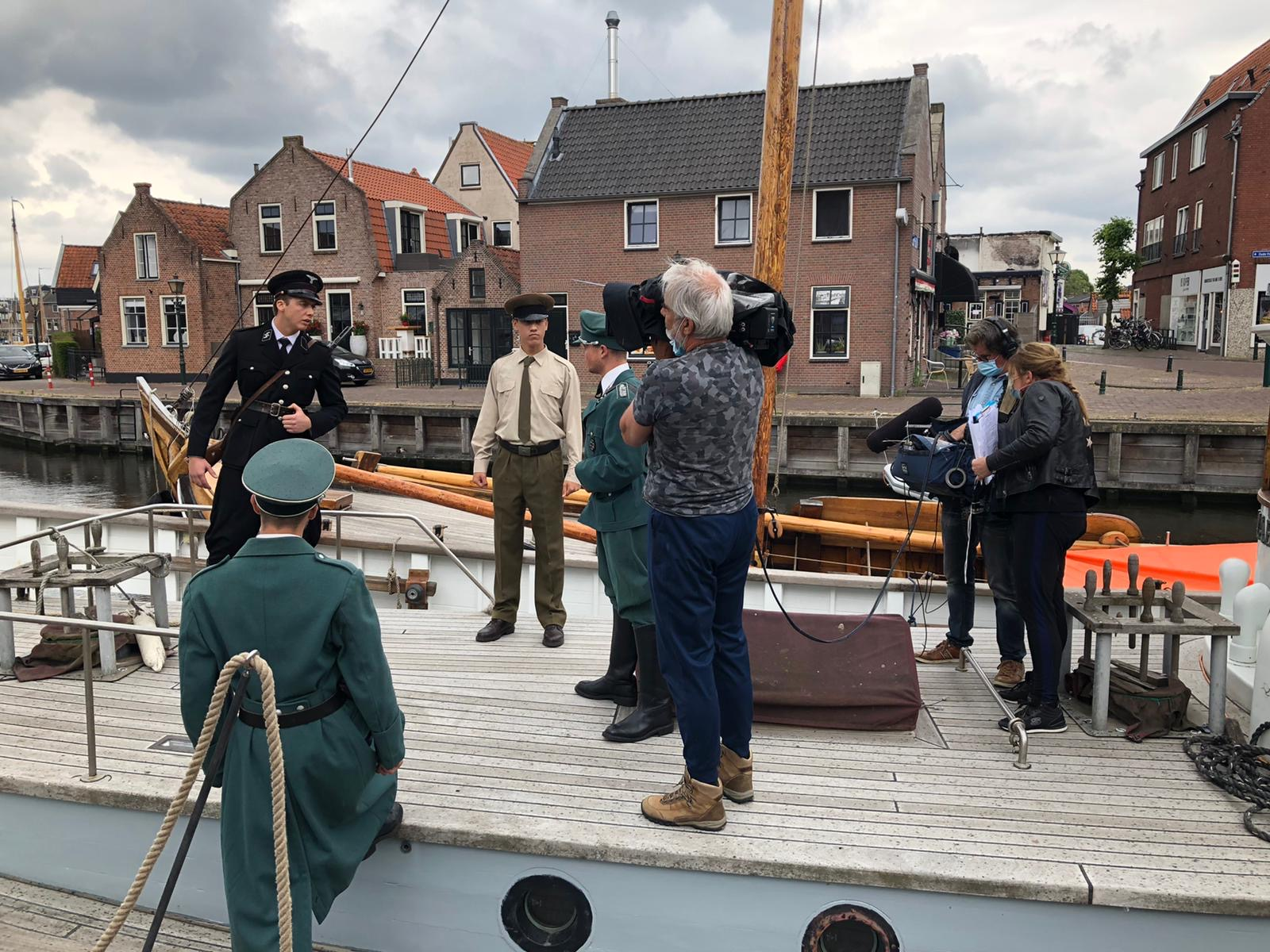 Op de Duitse boot
