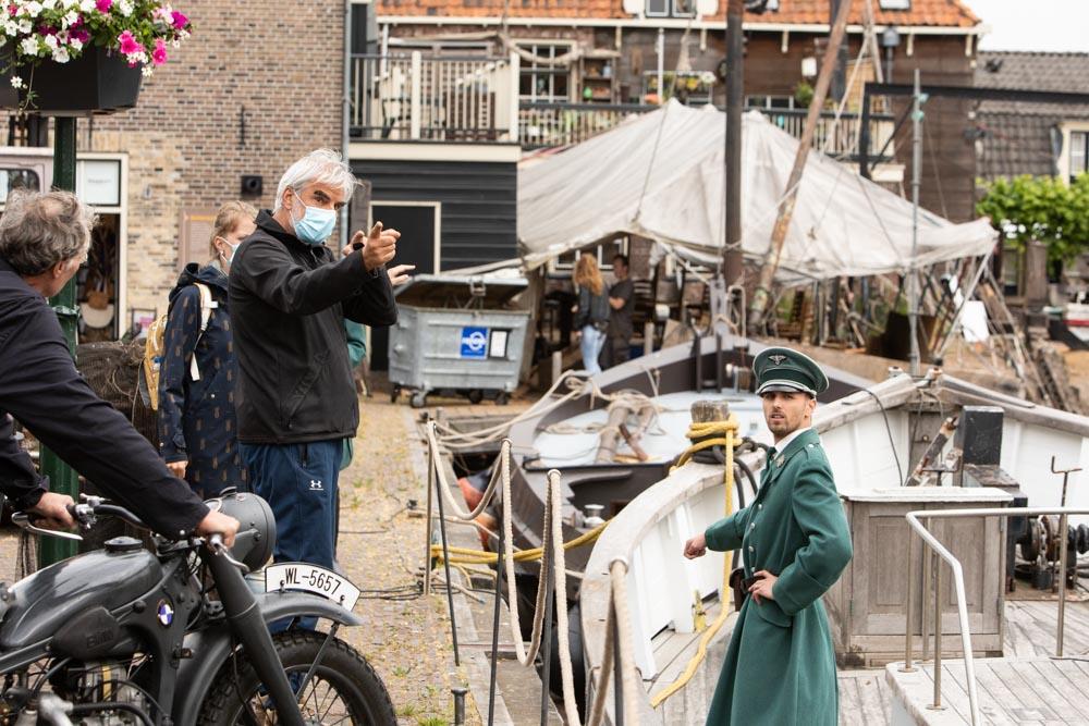 Instructies cameraman Ron van der Lugt (foto Caspar Huurdeman)